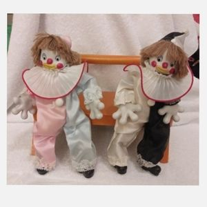 Other - Set of Clowns with Extra Big Hands